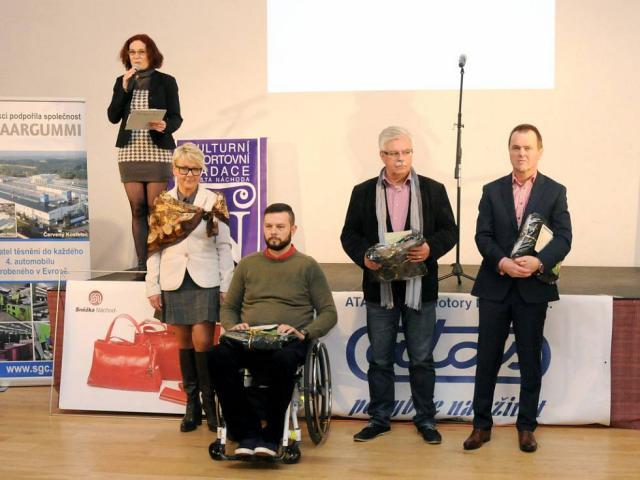 Náš člen Stanislav Jirásek oceněn v soutěži o nejlepšího hendikepovaného sportovce