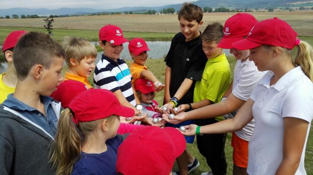 Grosshof opět hostil dětský golfový tábor