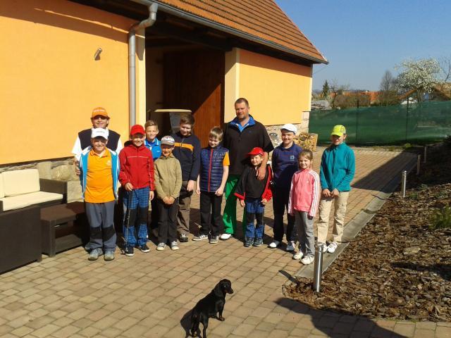 Slunečný Sasha Cup ovládl Matěj Špreňar