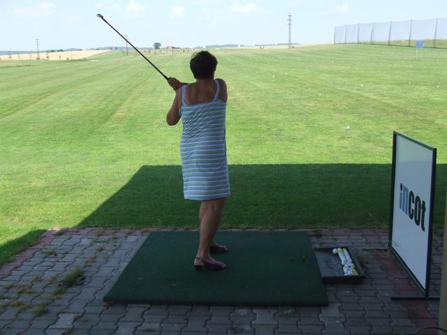 I při letním Dni otevřených dveří přibyli noví golfisté